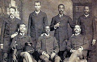 Henry Martin Tupper - Shaw University medical students, 1889