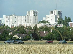 Les Ulis - Housing projects