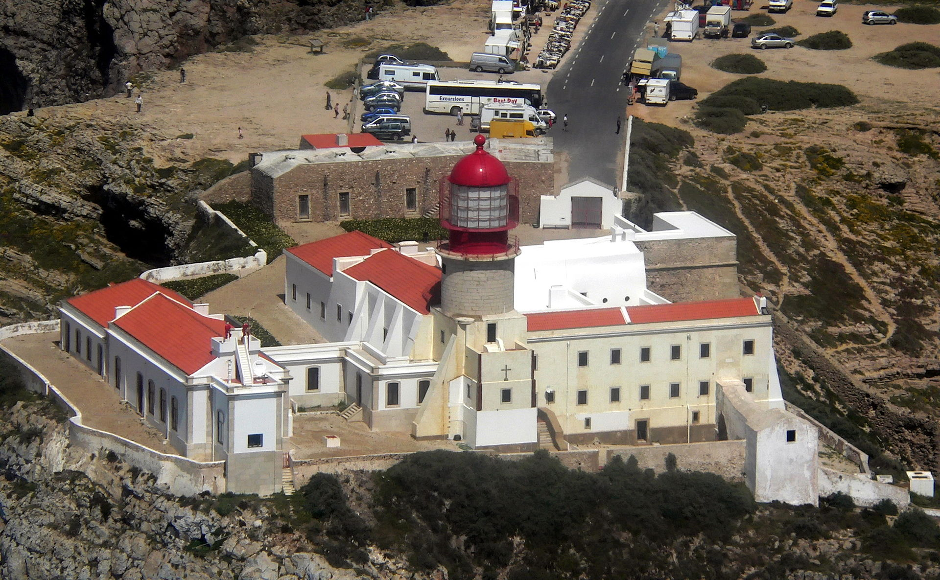 lighthouse of cabo de s o vicente wikipedia. Black Bedroom Furniture Sets. Home Design Ideas
