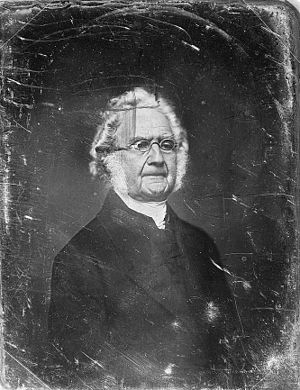 Levi Lincoln Jr. - Daguerrotype by Mathew Brady thought to be of Levi Lincoln Jr.