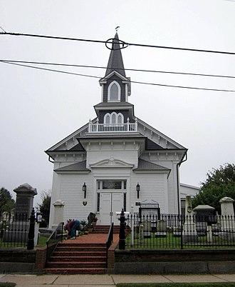 Lewes Presbyterian Church - Lewes Presbyterian Church, October 2011