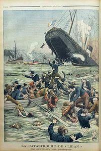 Liban und Insulaire, Supplement des Petit Journal 1903.jpg