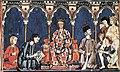 Libro de los Juegos, Alfonso X y su corte.jpg
