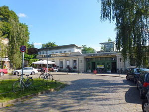 Berlin-Lichterfelde Ost station - North-western entrance