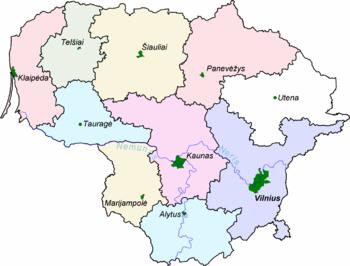 Lettland Karta Europa.Litauen Wikipedia