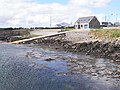 Lifeboat station and slipway at Ballyglass Harbour - geograph.org.uk - 1880780.jpg