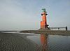 Lighthouse Hohe Weg by low tide.jpg