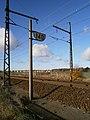 Ligne de Paris-Montparnasse à Brest - Gazeran (78) - panneau limitation vitesse.jpg