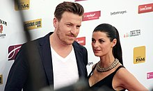 Lilja Bloom, Parov Stelar - Amadeus Awards 2013.jpg