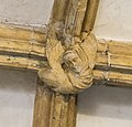 Lincoln Cathedral Slype Roof Boss, 7th from S (38433148970).jpg