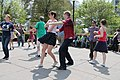 Lindy Hop at Washington, DC's DuPont Circle.jpg