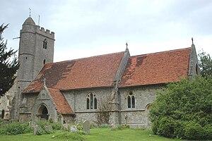 Little Wittenham - Image: Little Wittenham St Peter exterior