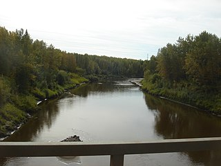 Little Smoky River river in Canada