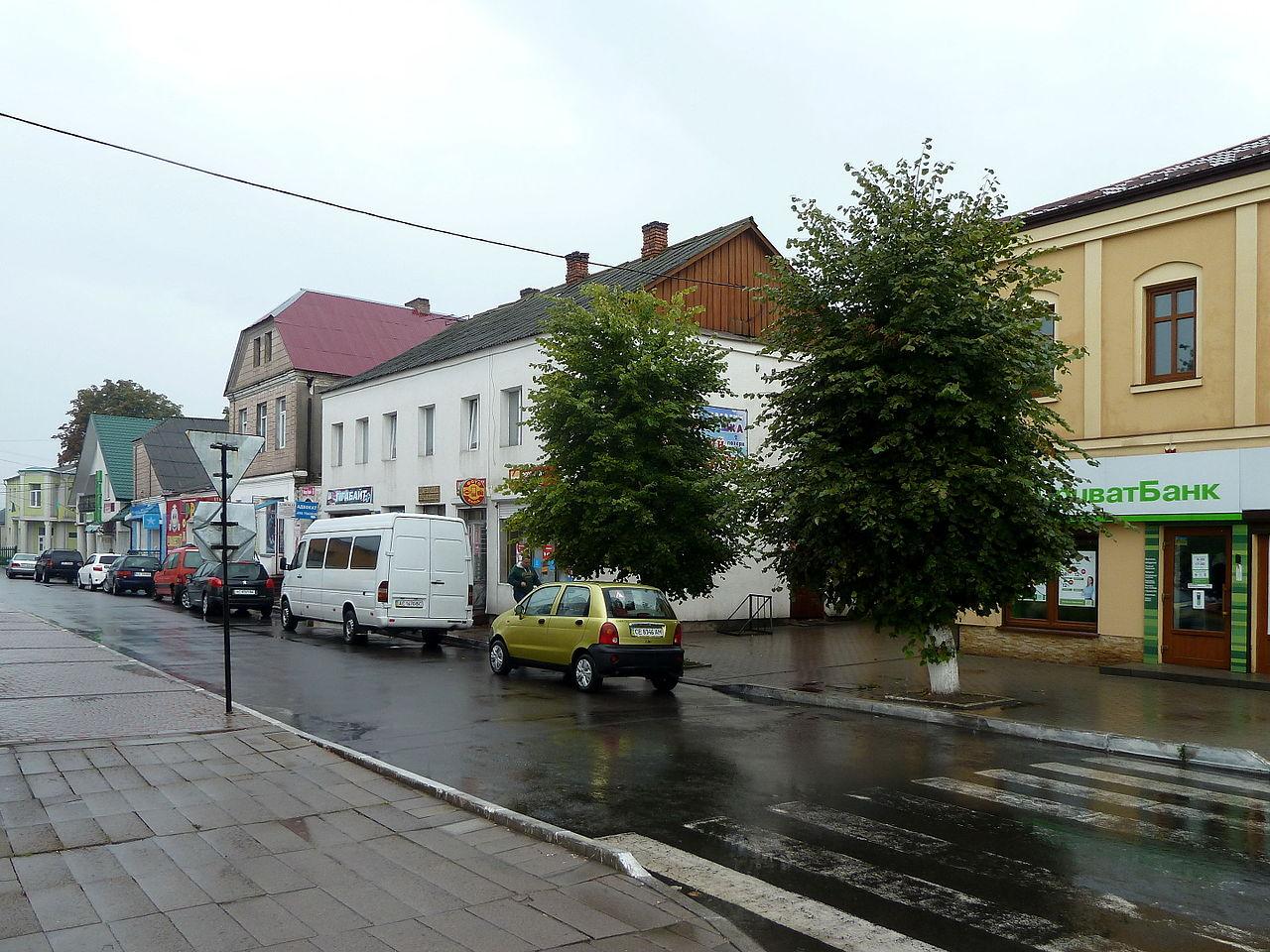 Улица, примыкающая к центральной