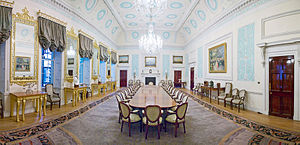 Lloyd's of London - The Council meets in the Committee Room, on the 11th floor of the Lloyd's building