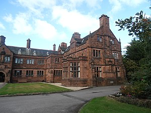 Gladstone's Library - Image: Llyfrgell Sant Deiniol and Gladstone's Library Hawarden Penarlâg 10