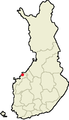 Location of Jakobstad in Finland.png