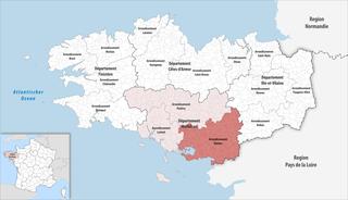 Arrondissement of Vannes Arrondissement in Brittany, France