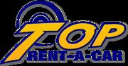 """Лого на """"Топ Рент А Кар"""""""