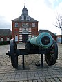 London-Woolwich, Royal Arsenal, Dresden cannon 1.jpg