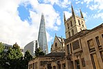 London - Southwark Cathedral & The Shard (1).jpg