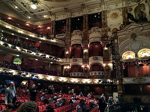 London Coliseum - Interior view of the house, 2015