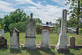 Looking SW across section Q - Glenwood Cemetery - 2014-09-14.jpg
