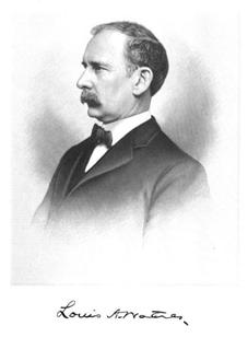 Louis Arthur Watres American politician