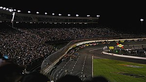 Charlotte Motor Speedway - Night racing at Charlotte Motor Speedway