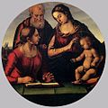 Luca Signorelli - The Holy Family with Saint - WGA21286.jpg