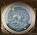 Luca della robbia, mesi per lo studietto di piero de' medici, 1450-56, giugno.JPG