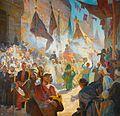 Ludwig Deutsch - The Procession 1909.jpg