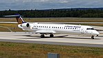 Lufthansa CityLine Canadair CRJ-900 (D-ACNV) at Frankfurt Airport.jpg