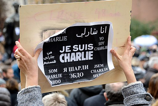 Luxembourg supports Charlie Hebdo