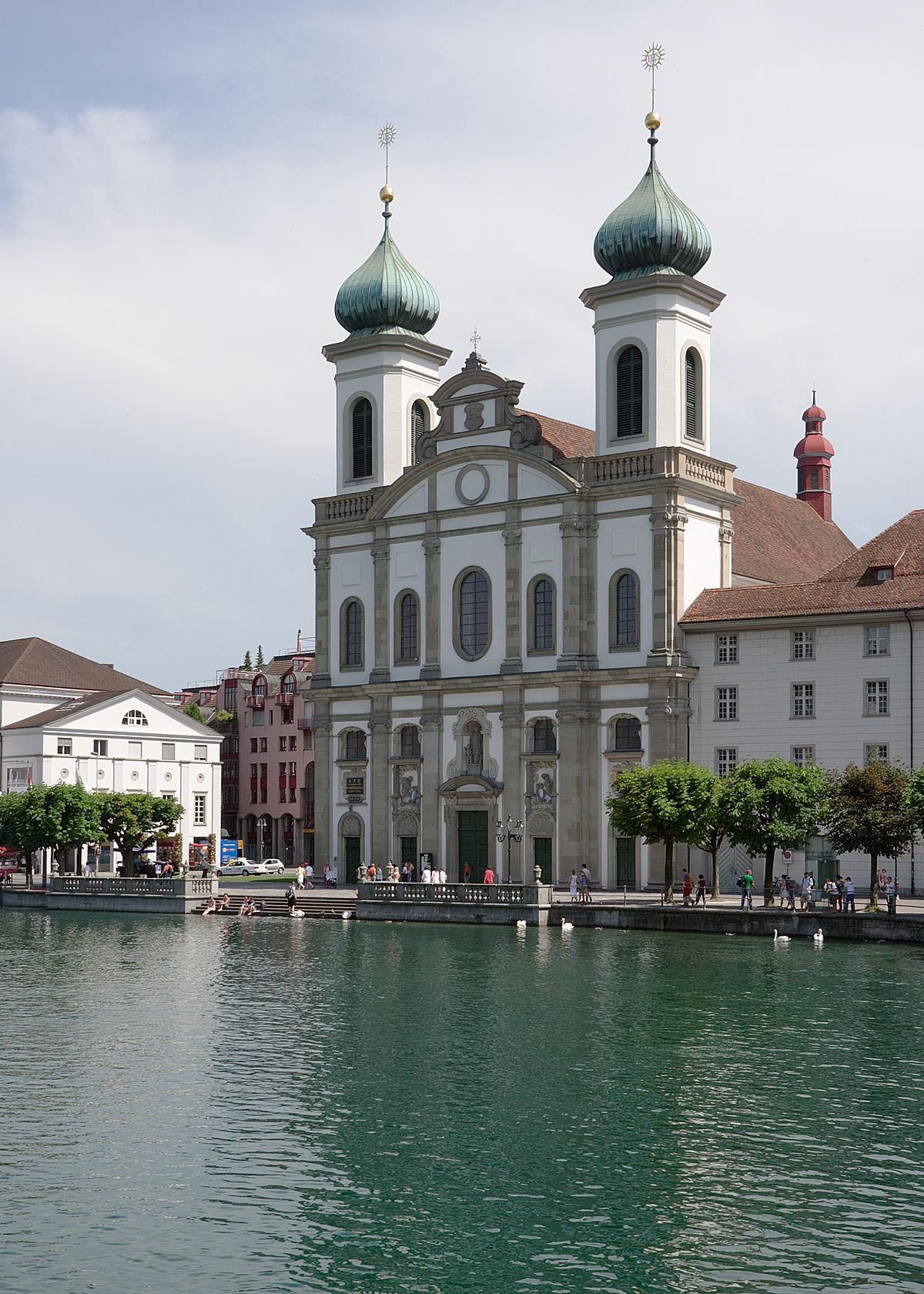 Iglesia Jesuita (Lucerna) - Wikipedia, la enciclopedia libre
