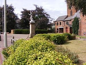 Lye, West Midlands - Lye War Memorial outside Christ Church