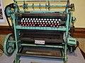 Máquina perforadora de tarjetas para telar de Jacquard 01, Antequera.jpg