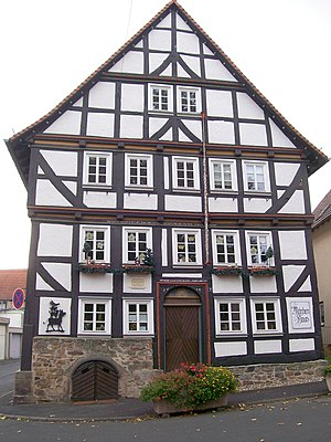 German Fairy Tale Route - Alsfeld, Fairy Tale House