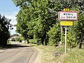 Ménil-sur-Saulx (Meuse) city limit sign.jpg