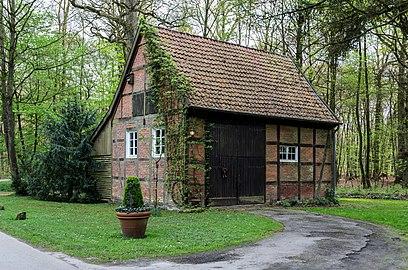 Münster, Wolbeck, Wolbecker Tiergarten, Fachwerkhaus -- 2014 -- 7077.jpg