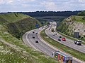 M3 motorway in the Twyford Down cutting - geograph.org.uk - 449508.jpg