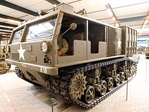 M6 Tractor - Image: M6 High Speed Tractor pic 3