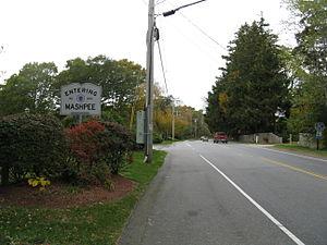 Massachusetts Route 130 - Northbound entering Mashpee