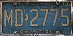 MD2775 New Jersey physician's license plate.jpg