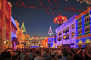 The Osborne Family Spectacle of Dancing Lights - The Osbourne lights in Streets of America.