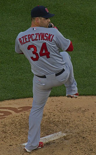 UC Riverside Highlanders baseball - Marc Rzepczynski, while pitching for the MLB's St. Louis Cardinals.