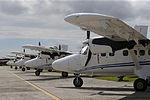 MINISTRO VALAKIVI ENTREGÓ MODERNA FLOTA DE 12 AERONAVES CANADIENSES TWIN OTTER DHC-6 SERIE 400 A LA FUERZA AÉREA DEL PERÚ (19595422271).jpg