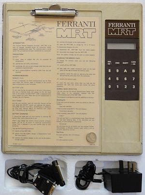 Ferranti MRT - The Ferranti MRT-100