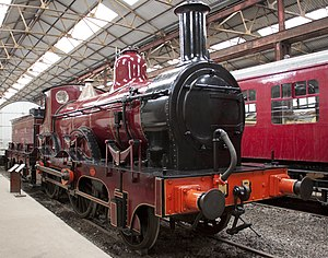 2-4-0 - Midland Railway 158A of 1866