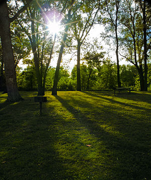 Milton State Park - A late summer afternoon at the park